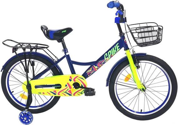 Велосипед Krakken Spike 20 синий 2020
