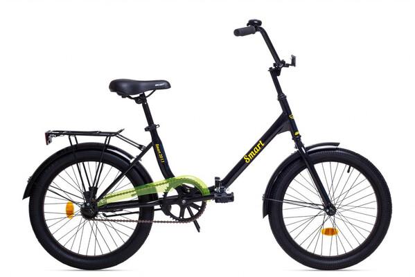 Велосипед дорожный для взрослых Aist Smart 20 1.1 черно- желтый