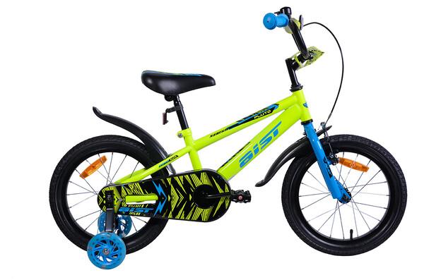 Велосипед детский Aist Pluto 16 желтый 2020