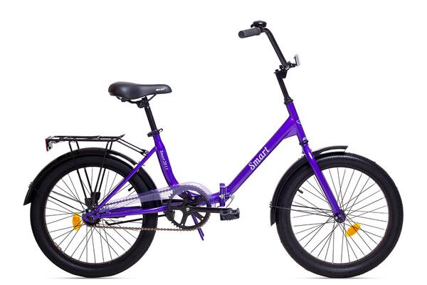 Велосипед подростковый Aist Smart 20 1.1 фиолетовый