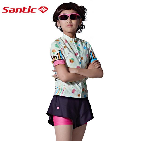 Комплект детской велоформы Santic размер M WL7CT065